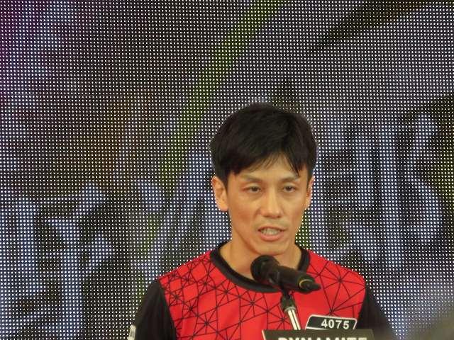 2019年多摩川SGグランドチャンピオン、オープニングセレモニーの中野次郎選手