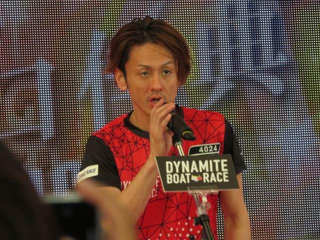 2019年多摩川SGグランドチャンピオン、オープニングセレモニーの井口佳典選手