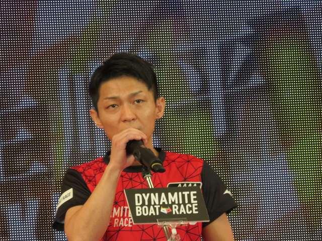 2019年多摩川SGグランドチャンピオン、オープニングセレモニーの桐生順平選手