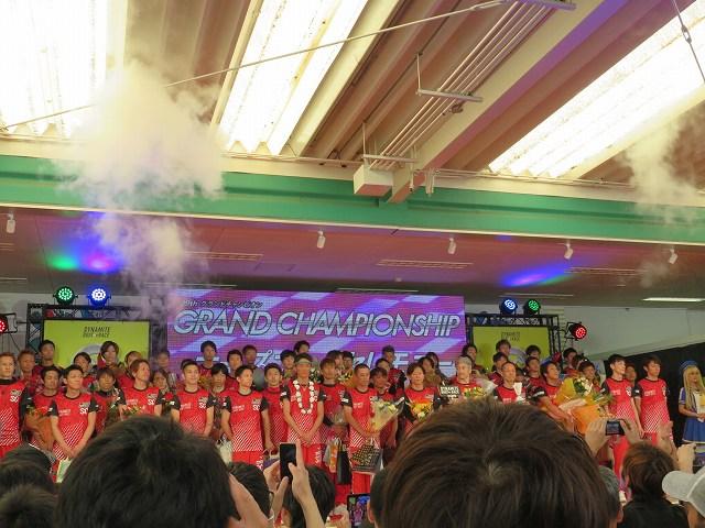2019年多摩川SGグランドチャンピオン、オープニングセレモニーのようす