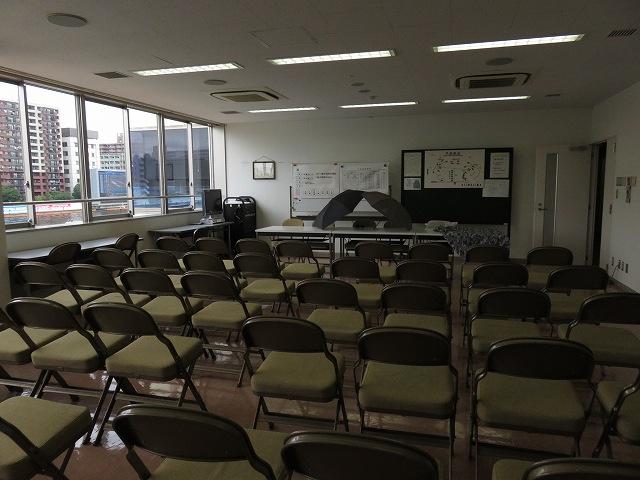 平和島競艇場のモーター抽選が行われる部屋