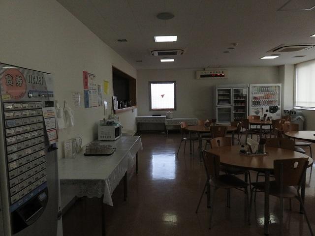 平和島競艇場の選手たちが食事をする食堂