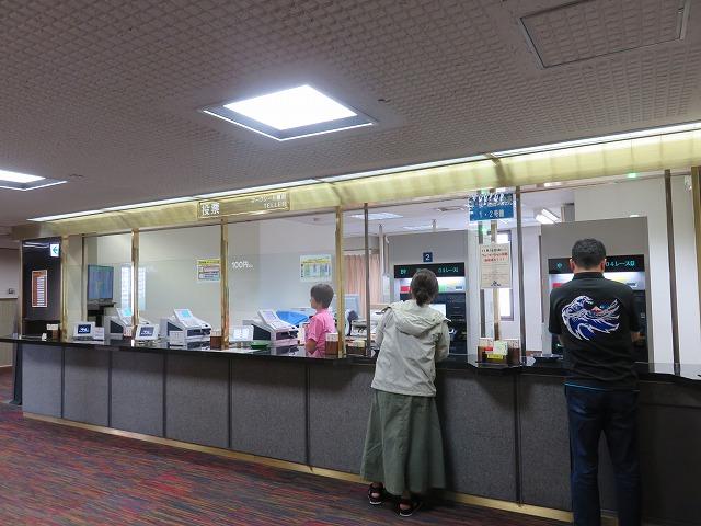 平和島競艇場の5階ロイヤルルームの投票所