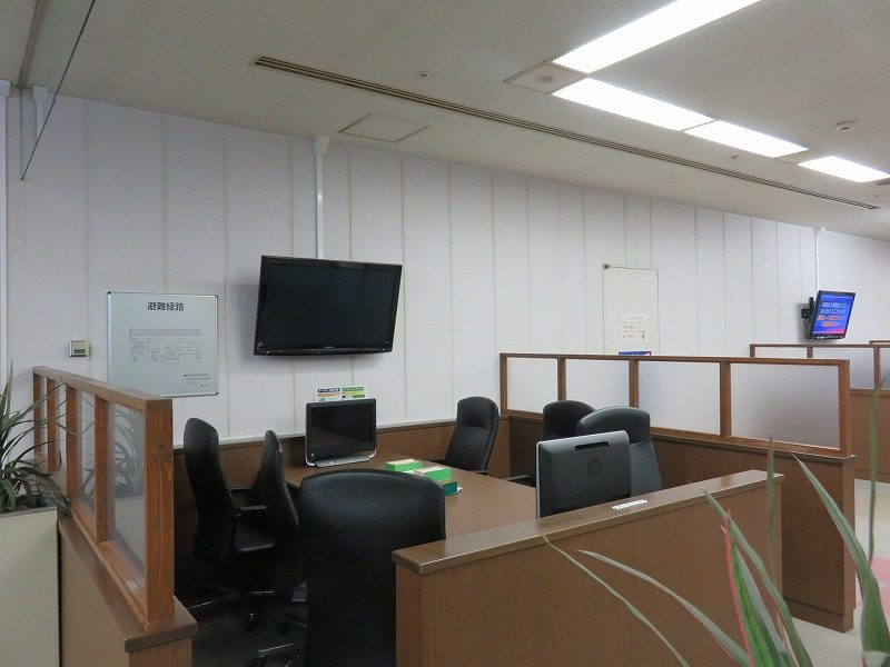 尼崎競艇場の5階有料席のグループシート