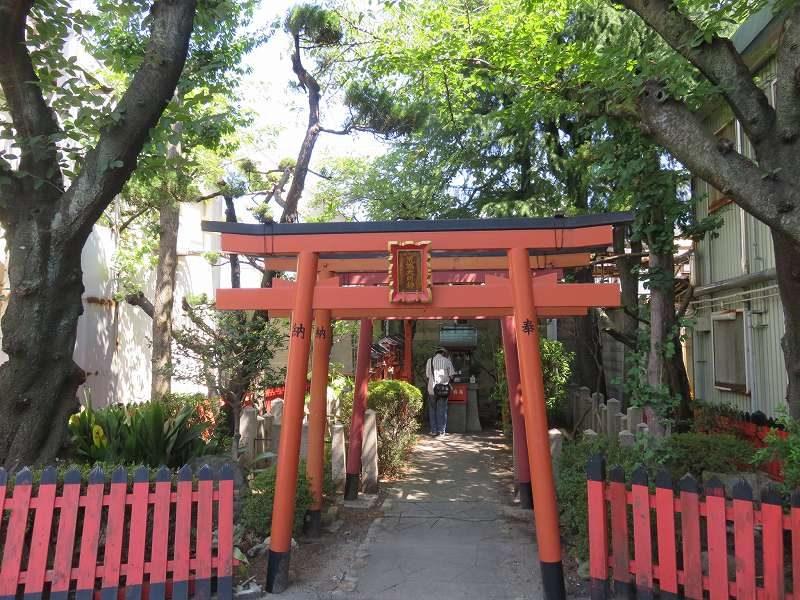 尼崎競艇場内にある神社