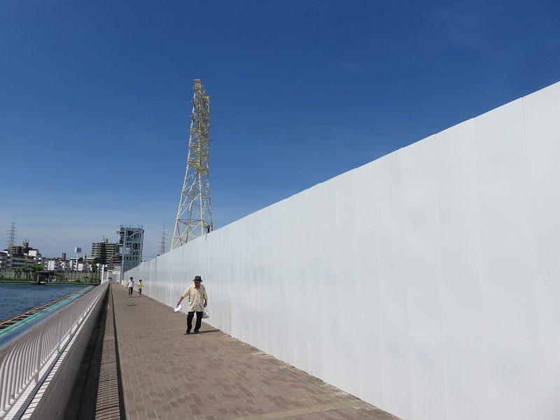尼崎競艇場の西側