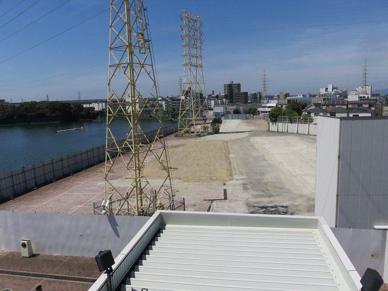 尼崎競艇場の旧スタンド跡地