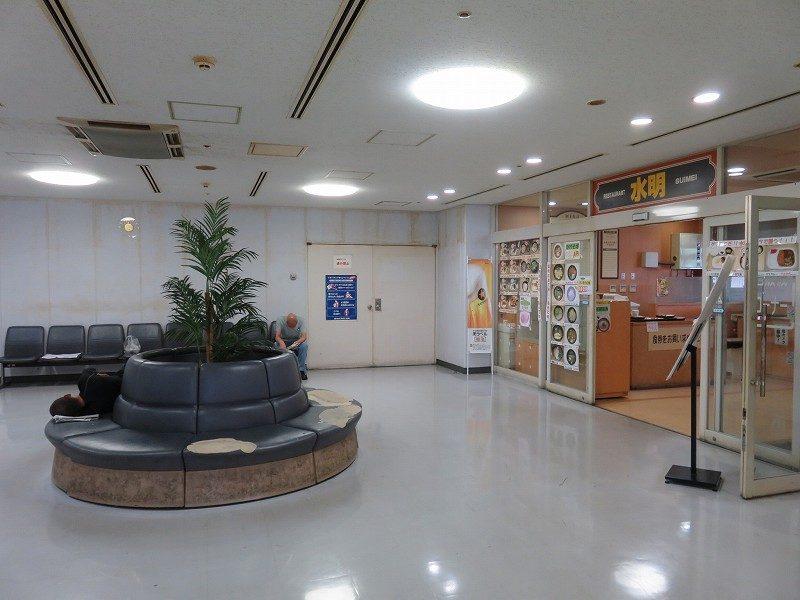 尼崎競艇場の2階レストラン「水明」