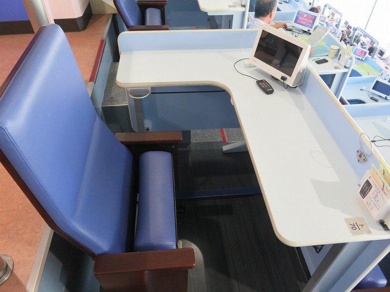 住之江競艇場の指定席・Sシート