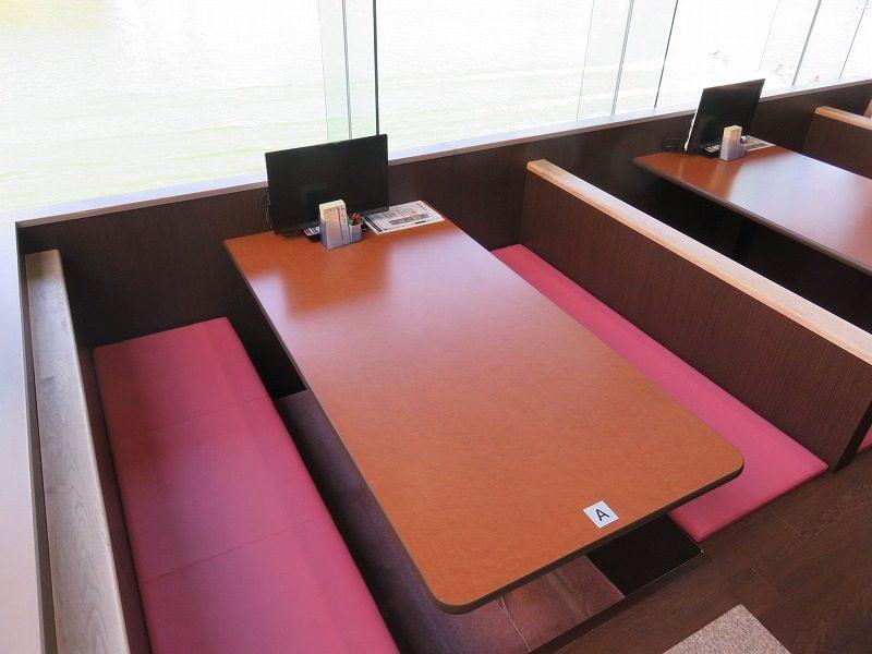 住之江競艇場の指定席・グループシートのBOXシート