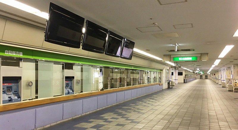 尼崎競艇場の1階スタンド