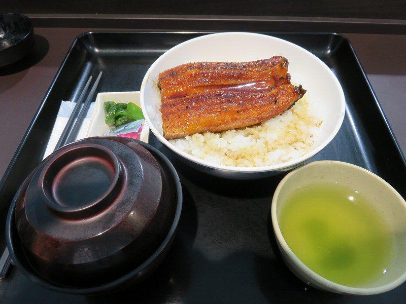 浜名湖競艇場のロイヤルルームのレストラン「シャトーレ」のうな丼