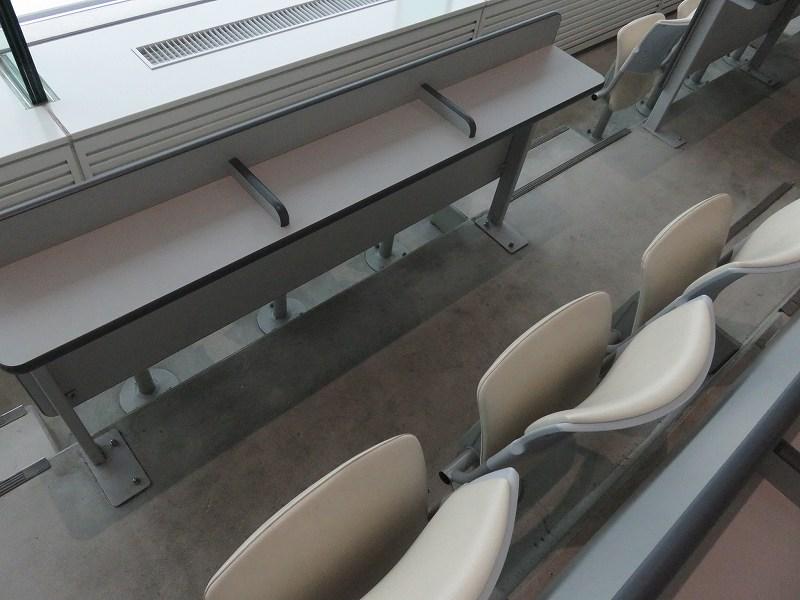 丸亀競艇場の2階一般席