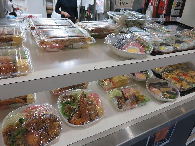 丸亀競艇場の2階フードコート内「ターンマーク」の惣菜