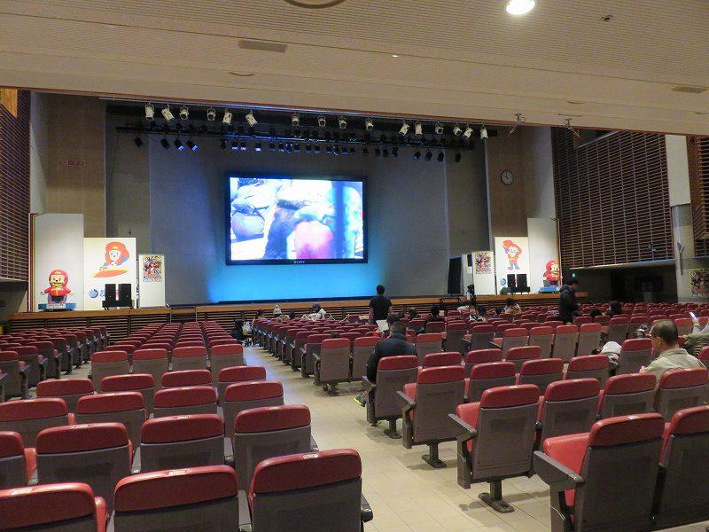 宮島競艇場のイベントホール