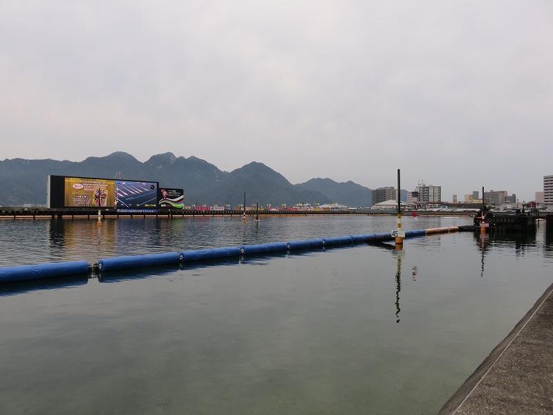 宮島競艇場の水面