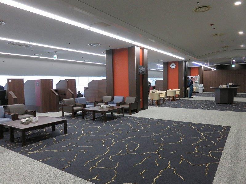宮島競艇場の4階指定席ブロンズシートのフリースペース