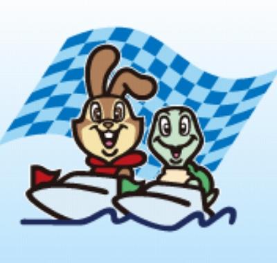 ボートレース江戸川のマスコットキャラクター「ラリー&バディー」