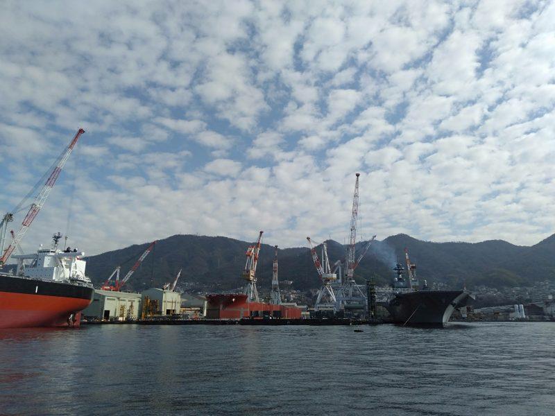 呉の艦船めぐりで見られる艦船