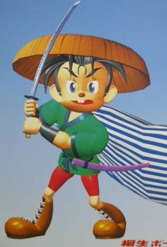 ボートレース桐生の昔のマスコットキャラクター「桐生忠太」