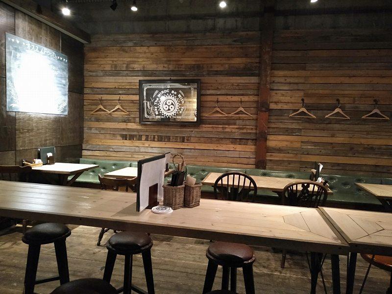 丸亀市のクラフトビール醸造所「MARUGAME MIROC BREWERY」の店内