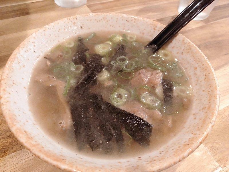 広島市福島町の「福本千昇」の牛スジスープ