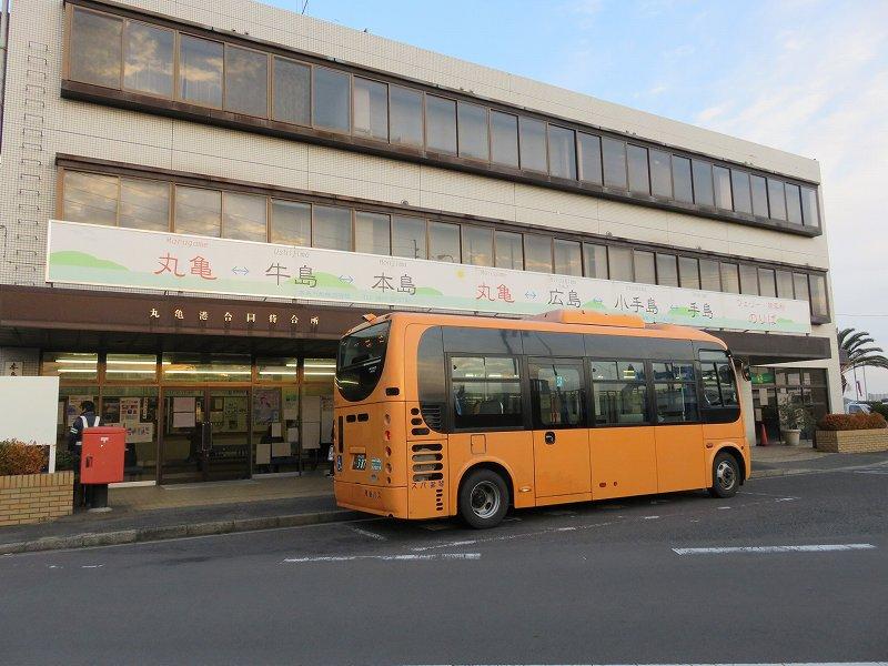 丸亀港フェリーターミナルの外観