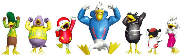 ボートレース児島のマスコットキャラクター「ガァ~コ」とゆかいな仲間たち