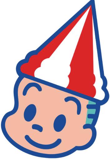 ボートレース大村のマスコットキャラクター「ターンマーク坊や」