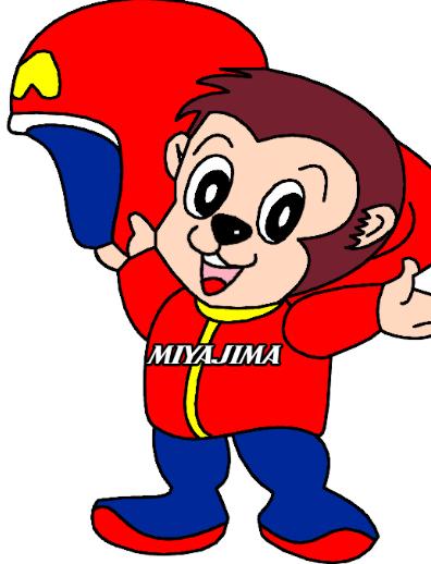 ボートレース宮島のマスコットキャラクター「モンタ」