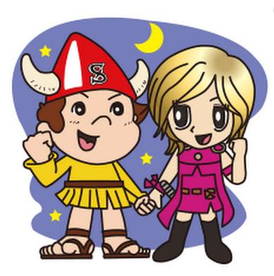 ボートレース下関のマスコットキャラクター「シーボー」と「シーモ」