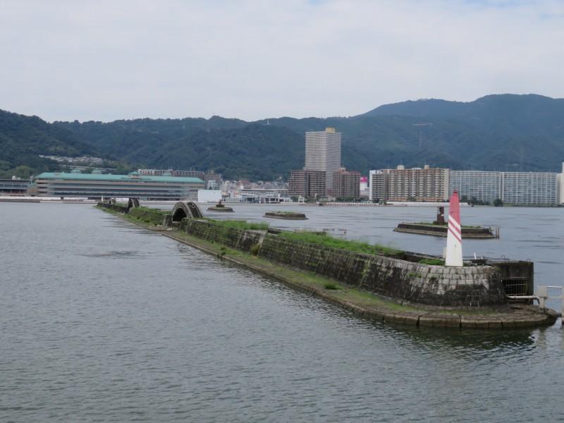 びわこクルーズ船ミシガンからの眺め