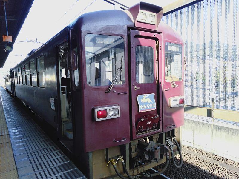 わたらせ渓谷鐵道の普通列車