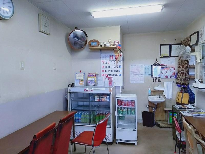 桐生の弁当屋「ストラーダ」の店内のようす