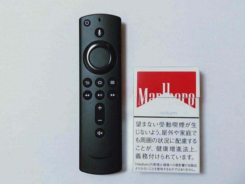 Fire TV Stickの大きさがわかる画像