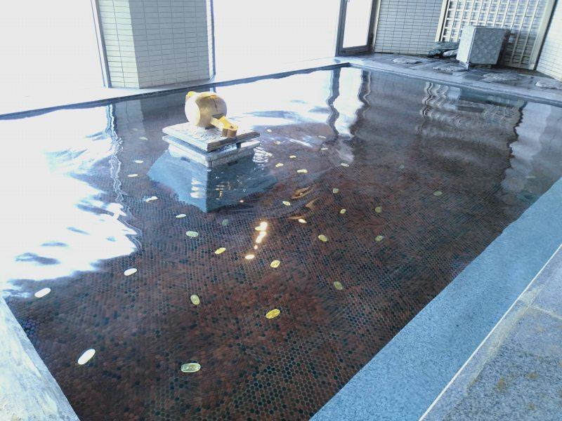 伊香保温泉の松本楼の8階にある吉祥の湯の白銀の湯