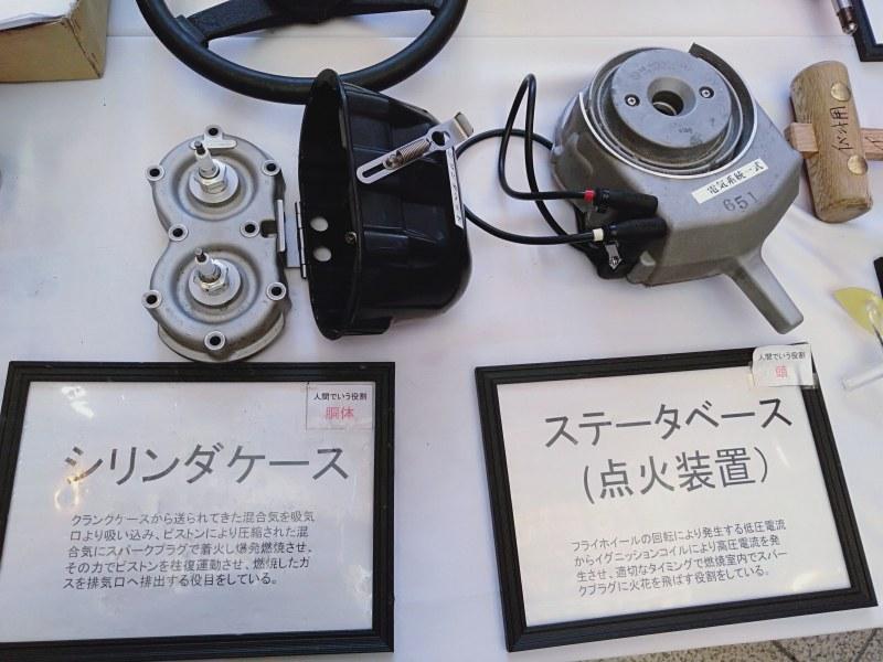 競艇のモーター部品の電気系統一式(ステータベース)、シリンダーパット