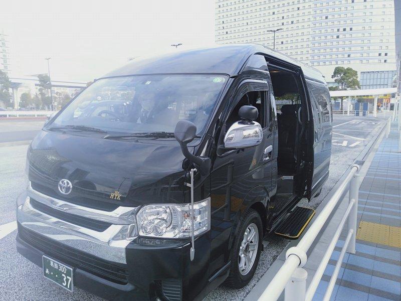 東京港(有明)フェリーターミナルに行く送迎タクシー
