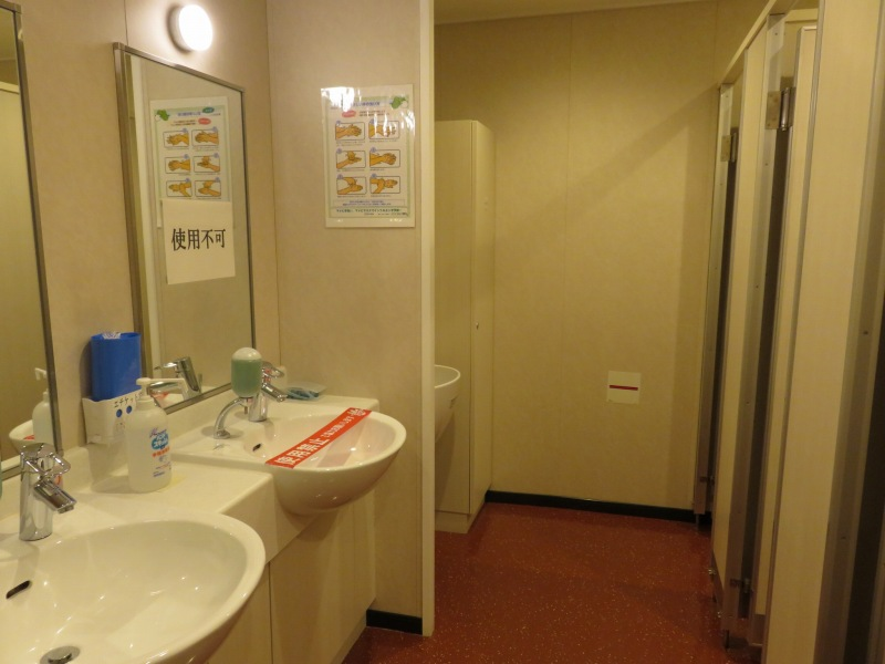オーシャン東九フェリー「りつりん」のトイレ