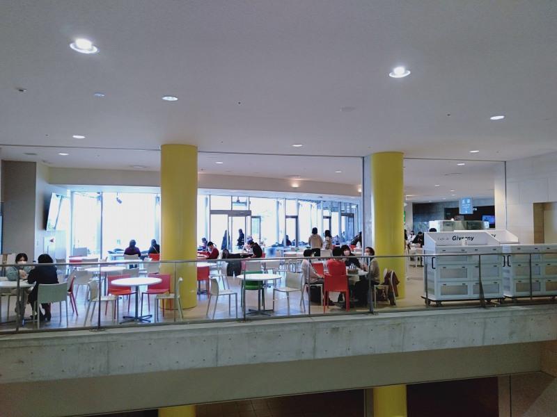 大塚国際美術館の地下2階にある「カフェ・ド・ジヴェルニー」