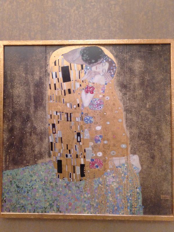 大塚国際美術館に展示されているクリムトの「接吻」