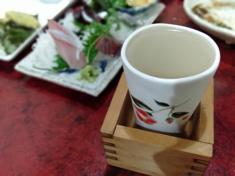 鳴門の居酒屋「あじの家」の日本酒