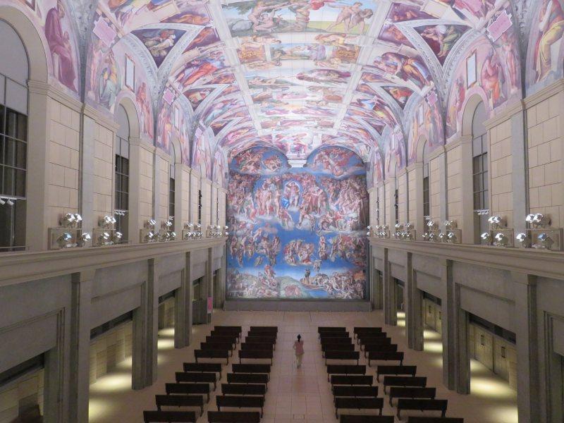 大塚国際美術館のシスティーナ礼拝堂