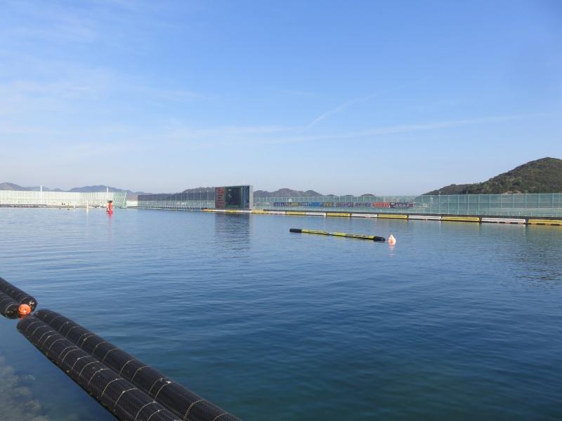 ボートレース鳴門の水面