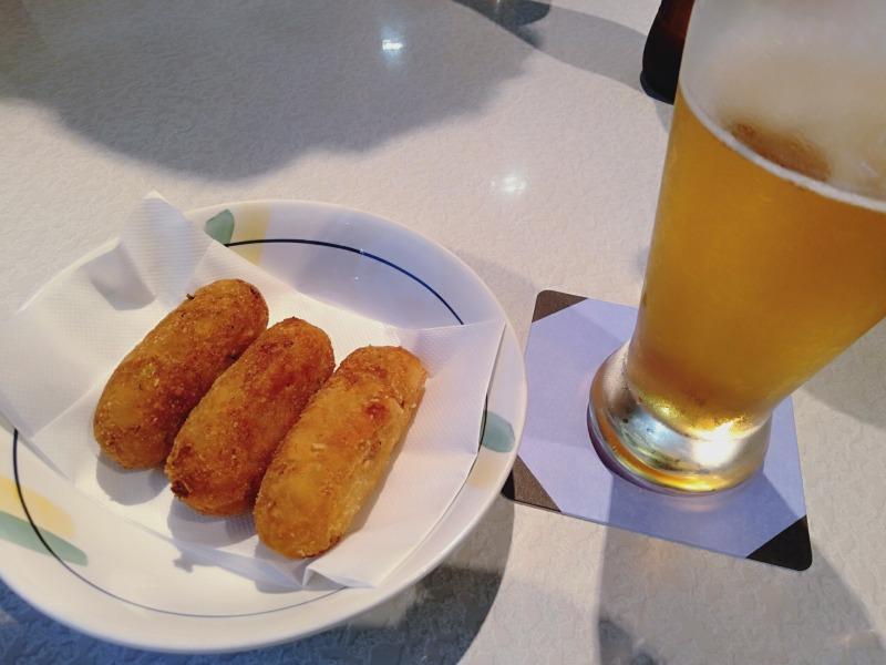 レストランブラジルのコロッケ