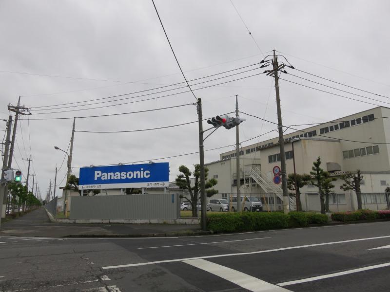 大泉町のパナソニック工場