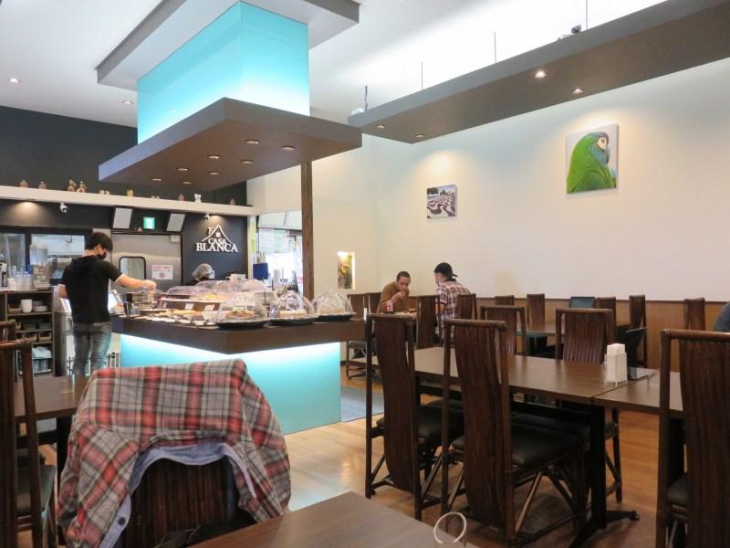 カサ・ブランカ大泉のレストランの様子
