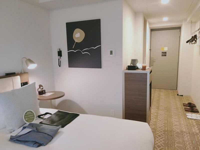 ザロイヤルパークキャンバス京都二条のスタンダードツインの部屋