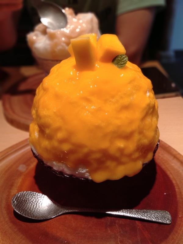 京氷菓つららの「完熟マンゴー」
